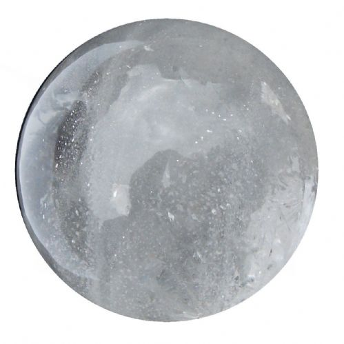 Rock Quartz Crystal Ball Scrying Gazing Fortune Telling Sphere 57mm 260g CB33